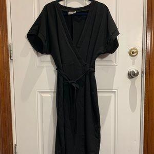 ASOS Dolman-sleeve Wrap Dress 12